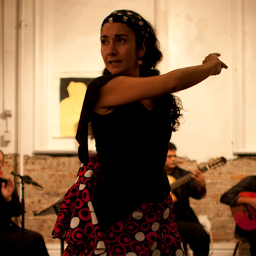 (Late Show) Alba Flamenca with guest artist Hybrid Dance Project