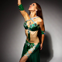 (Early Show) Rebecca Dharma with ElectroBelly Dance Troupe